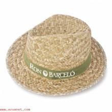 Sombrero Paja Capo Verdoso N-034