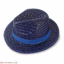 Sombrero Paja Capo Azul N-033