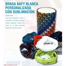 Braga Bafy Blanca Personalizada