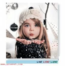 Calendario Bolsillo Niña - Navidad