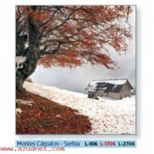 Calendario Bolsillo Montes Cárpatos - Serbia
