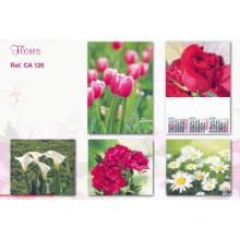 Calendario Trimestral Flores Se126 2015