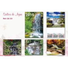 Calendario Trimestral Saltos De Agua Se131 2015