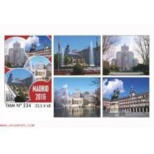 Calendario Trimestral Madrid 2016 Nº234