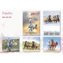 Calendario Trimestral Caballos Se135 2015