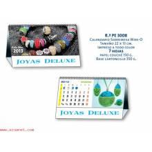 Calendario Personalizado 7 Hojas 3008