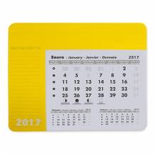 ALFOMBRILLA CALENDARIO AMARILLO