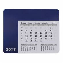 ALFOMBRILLA CALENDARIO AZUL