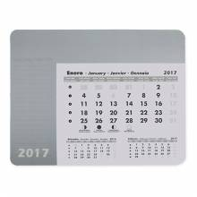 ALFOMBRILLA CALENDARIO PLATA