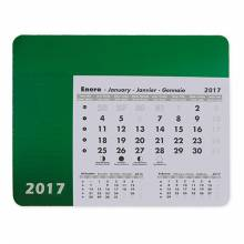 ALFOMBRILLA CALENDARIO VERDE
