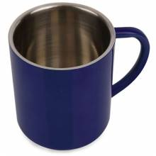 MUG METALICA 300 ML AZUL