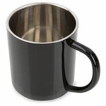 MUG METALICA 300 ML NEGRA