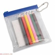 Bolsa Pvc Lápices Colores B-046