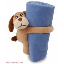 Perrito Con Manta Azul S-020